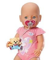 Оригинал. Интерактивная Соска с мишкой для куклы Baby Born Zapf Creation 819258M