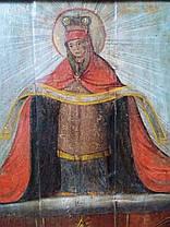Козацкая икона Покрова Пресвятой Богородицы 18 век (Козацька ікона Покрова Пресвятої Богородиці), фото 3
