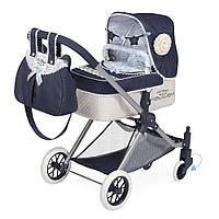 Візок 80720 для ляльки, 3 в 1, класика, сумка, кошик, подушка, кор., 64-38-15,5 см.