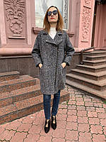 Пальто женское  букле на молнии