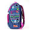 Школьный рюкзак каркасный 1 Вересня H-11 Trolls, 34*26*14                                 , фото 3