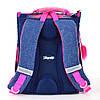 Школьный рюкзак каркасный 1 Вересня H-11 Trolls, 34*26*14                                 , фото 4