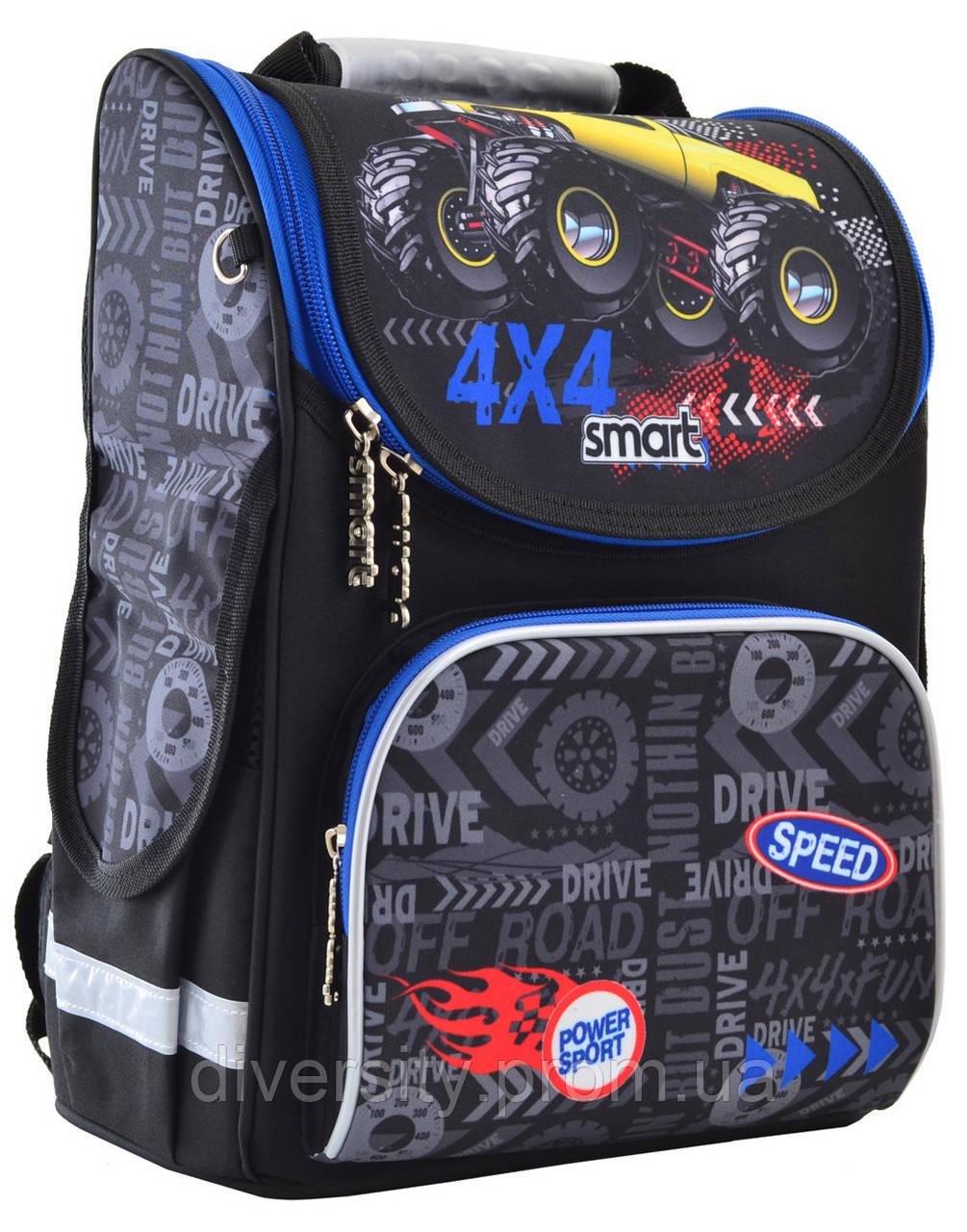 "Школьный рюкзак, каркасный PG-11 ""Speed 4*4"""