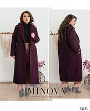 Пальто женское демисезонное большие размеры 48-58, фото 3