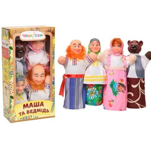 Кукольный театр В163 ТРИ МЕДВЕДЯ (4 персонажа)