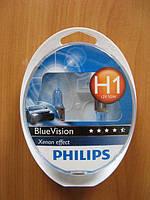 Галогенка H1 PH 12V 55W 12258BVSM BlueVision