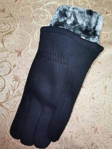 Трикотаж з мех теплий рукавички чоловічі bo xing тільки оптом