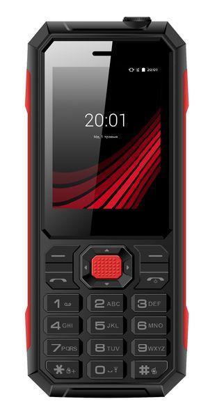 Кнопочный телефон защищенный на 2 сим карты ERGO F248 Defender черный