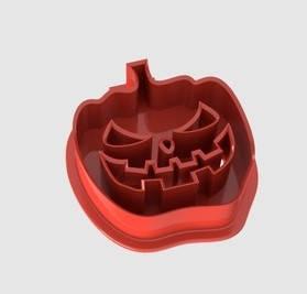 Форма для выпечки печенья тыква №1, вырубка halloween