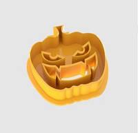 Форма для выпечки печенья тыква №2, вырубка halloween