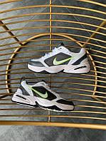 "Кроссовки Nike Air Monarch IV ""White/green"" kib найк"
