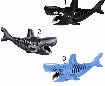 Лего Пираты карибского моря (Lego Pirates of the Caribbean) акулы акула