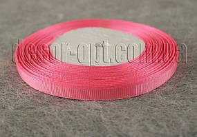 Лента репсовая розовая 0,6 см 25 ярд арт.05