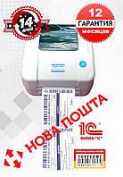 ГАРАНТИЯ 1 год ! Принтер этикеток Xprinter XP-450B USB+Ethernet аналог Zebra GC420D, фото 1