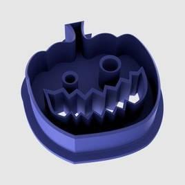 Форма для выпечки печенья тыква №5, вырубка halloween
