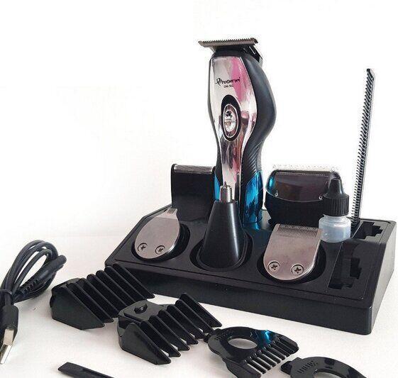 Машинка для стрижки з USB зарядкою Gemei GM-562 - 11в1