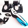 Машинка для стрижки з USB зарядкою Gemei GM-562 - 11в1, фото 4