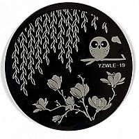 Пластина для стемпинга YZWLE 19
