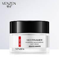 Крем для лица с никотинамидом VENZEN Nicotinamide Hydrating Moisturizing Soft Cream (50г)