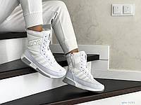 Кросівки жіночі  в стилі  Adidas  білі  зима  (ТОП ЯКІСТЬ)
