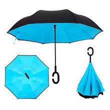 Зонт обратного сложения Up-brella зонт наоборот