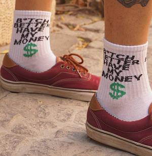 Шкарпетки Neseli B*TCH MONEY