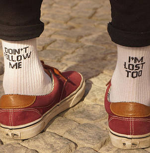 Шкарпетки Neseli Don't follow me