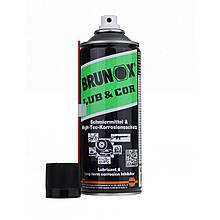 Brunox Lub & Cor мастило універсальне спрей 400ml