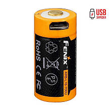 Ліхтар ручний Fenix PD25+16340 USB, фото 3