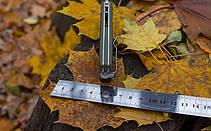 Нож складной Ganzo G724M зеленый, фото 2