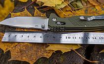 Нож складной Ganzo G724M зеленый, фото 3