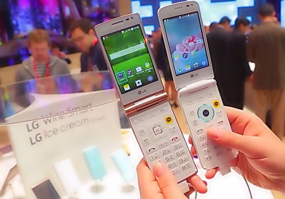 «Android-раскладушка» от LG