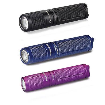 Ліхтар ручний Fenix E05 XP-E2 R3 фіолет оновлений, фото 2