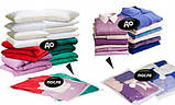 Вакуумный пакет 50 Х 60 см для вещей, хранение вещей, компактная упаковка, компрессионные пакеты ОПТ, фото 4