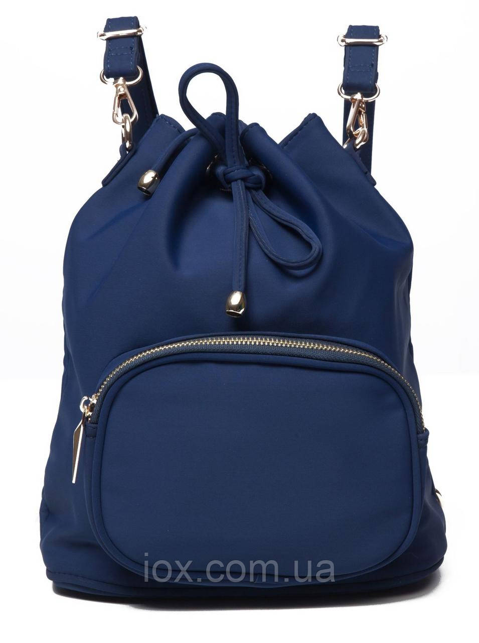 Рюкзак женский нейлоновый Vintage 14806 Cиний, Синий
