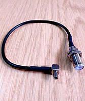 Антенный адаптер, переходник, pigtail TS9-F для модема Cal-Comp A605, фото 1