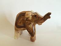Статуэтка слон из оникса (средняя)