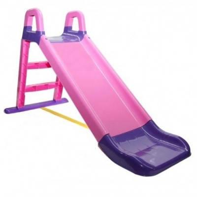 Детская горка для дачи и дома 140 см Долони( 0140/05) Розово-фиолетовая
