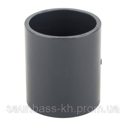 Муфта ПВХ ERA соединительная, диаметр 90 мм.