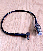 Антенный адаптер, переходник, pigtail TS9-F для модема Pantech MHS291LVW, фото 1