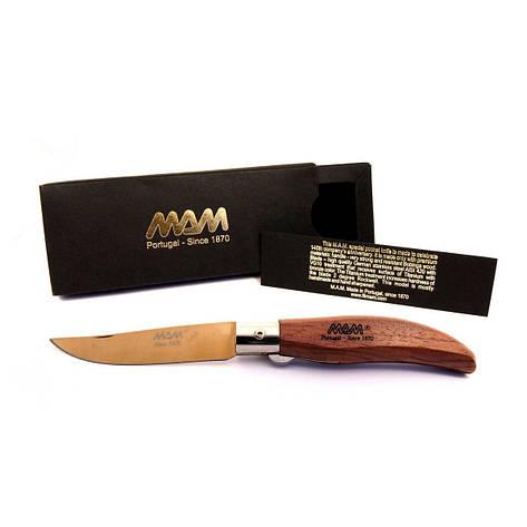 Ніж складний MAM Iberica's кишеньковий покриття клинка Bronze Titanium №2017, фото 2