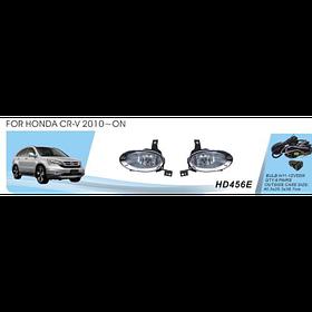Фары дополнительные модель Honda CRV/2010-/HD-456E-W/эл.проводка