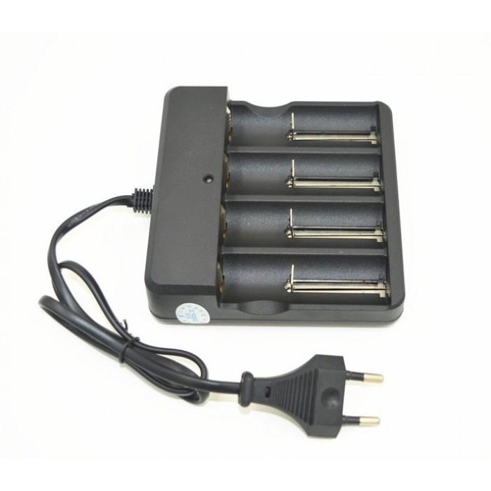 Четырехканальное зарядний пристрій MD-484A для 18650 3.7-4,2 зарядка