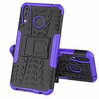 Чехол Armor Case для Asus Zenfone Max M2 (ZB633KL) Фиолетовый