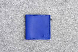 """Кожаный кошелек """"Bro Wallet Elite Sky"""", мужские портмоне"""
