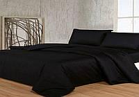 Черное постельное постельное белье. Евро комплект