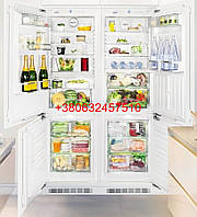 Встраиваемый холодильник Liebherr SBS 66i3 (ICN 3366 + ICBN 3056) Side-by-side, Premium BioFresh NoFrost