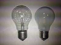 Лампа ЛОН 220-25, Е27 мат. прозр.