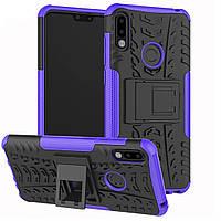 Чехол Armor Case для Asus Zenfone Max Pro M2 (ZB631KL) Фиолетовый