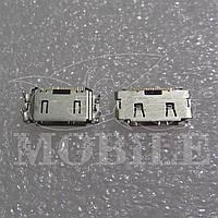 Коннектор зарядки Samsung C3010/ C3011/ S3600/ S5200 (3710-002568) Orig